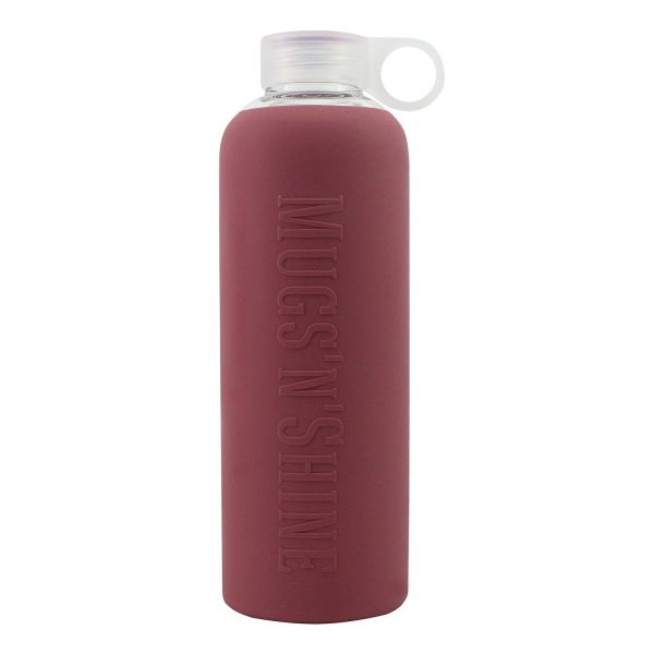 Mugs'n'Shine Silicone Bottle Mulberry